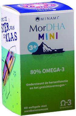 Minami Nutrition MorDHA Mini Junior 60 softgel capsules