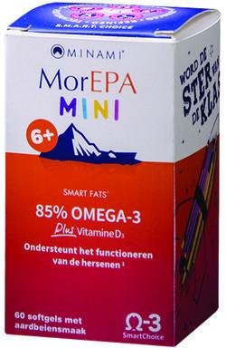 Minami Nutrition MorEPA Mini Junior 60 softgel capsules