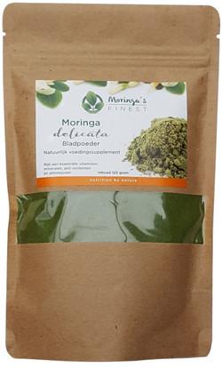 Moringa Biologisch Delicate Blad Poeder 125 Gram