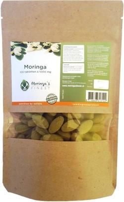 Moringa's Finest Moringa Tabletten 1000 mg
