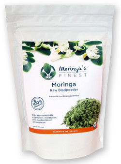 Moringa Biologisch Blad Poeder 250 Gram