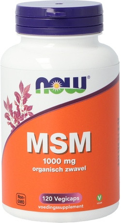 NOW Foods MSM 1000 mg 120 capsules
