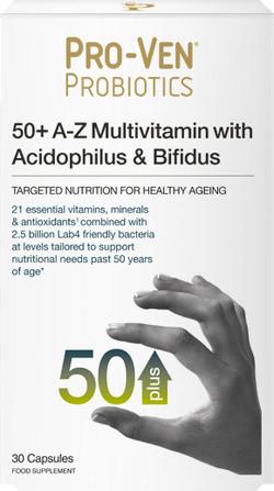 Pro-Ven Probiotics Multi & Probiotica 50+ 30 capsules