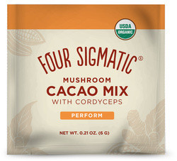 Four Sigmatic Cordyceps Mushroom Hot Cacao Mix (Xoco Red) 1 zakje