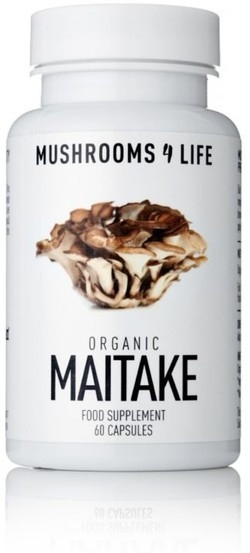 Mushrooms4Life Maitake Caps 60 capsules biologisch