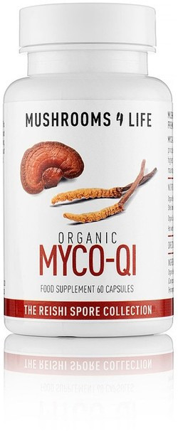 Mushrooms4Life MyCo-Qi Caps 60 capsules biologisch