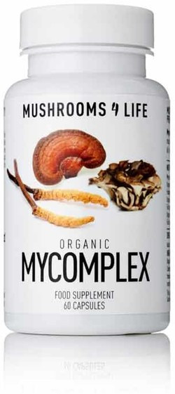 Mushrooms4Life Mycomplex Caps 60 capsules biologisch