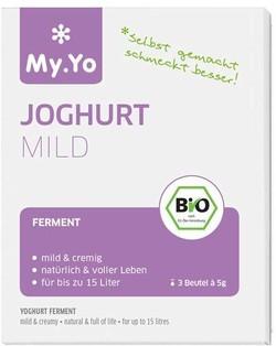 My.Yo Yoghurt Ferment Mild BIO 3 x 5 gram biologisch