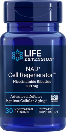 Life Extension NAD+ 100 Regenerator 30 vegetarische capsules