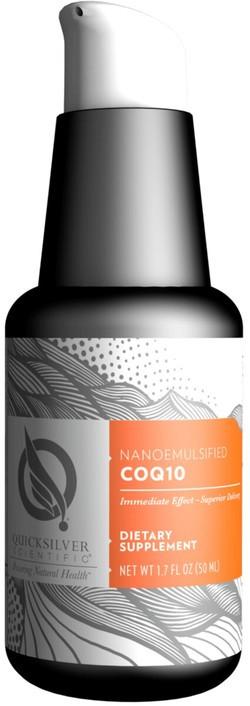 Quick Silver Nanoemulsified CoQ10 50 milliliter