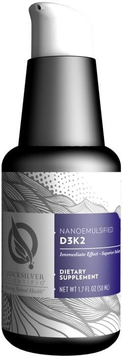 Quick Silver Nanoemulsified D3 K2 50 milliliter