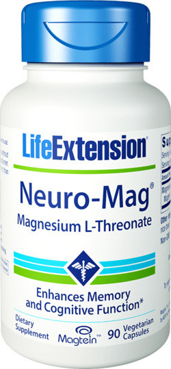 Life Extension Neuro-Mag Magnesium L-Threonate 90 capsules