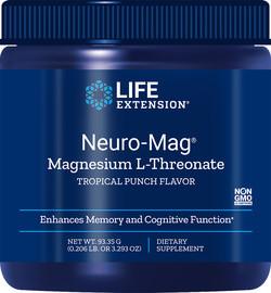 Life Extension Neuro-Mag Magnesium L-Threonate Poeder 93,35 gram