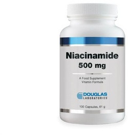 Douglas Laboratories Niacinamide 500 100 capsules