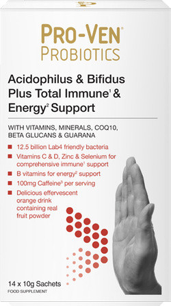 Pro-Ven Probiotics Probiotics for Immunity and Energy 14 zakjes