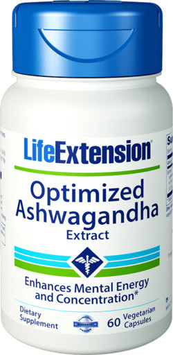 Life Extension Optimized Ashwagandha Extract 60 capsules
