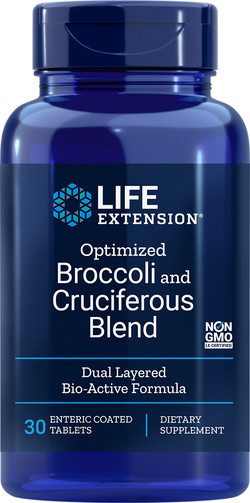 Life Extension Optimized Broccoli and Cruciferous Blend 30 tabletten