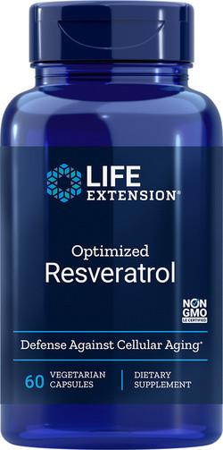 Life Extension Optimized Resveratrol 60 capsules
