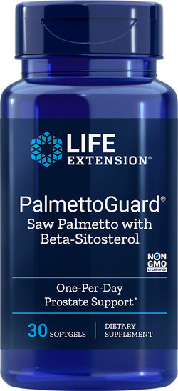 Life Extension PalmettoGuard 30 softgel capsules