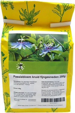 Passiebloem kruid fijngesneden 250 gram