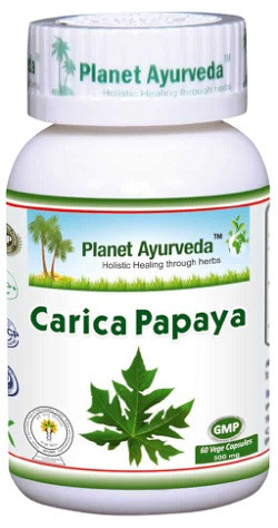 Planet Ayurveda Carica Papaya 60 capsules