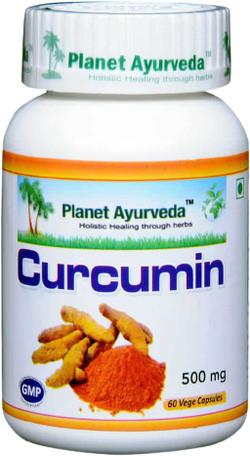 Planet Ayurveda Curcumin 60 vegetarische capsules