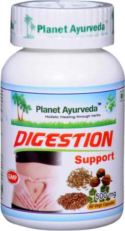 Planet Ayurveda Digestion Support 60 vegetarische capsules