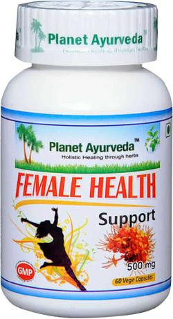 Planet Ayurveda Female Health Support 60 vegetarische capsules
