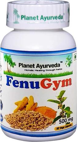 Planet Ayurveda FenuGym 60 vegetarische capsules