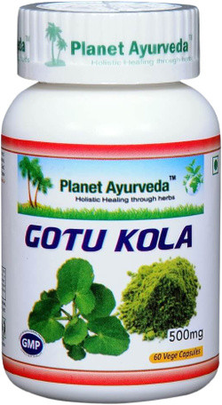 Planet Ayurveda Gotu Kola 60 vegetarische capsules
