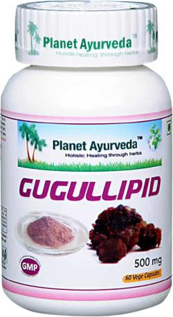 Planet Ayurveda Gugullipid 60 vegetarische capsules