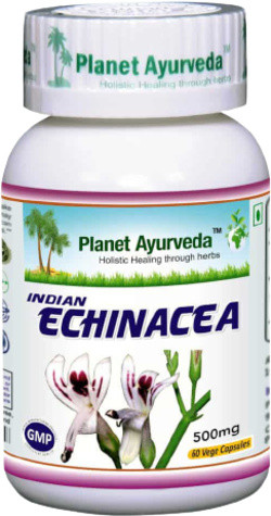 Planet Ayurveda Indian Echinacea 60 vegetarische capsules