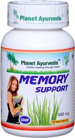 Planet Ayurveda Memory Support 60 vegetarische capsules