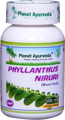 Planet Ayurveda Phyllanthus Niruri 60 vegetarische capsules
