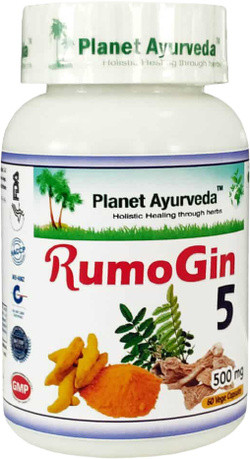 Planet Ayurveda RumoGin 5 60 vegetarische capsules