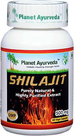 Planet Ayurveda Shilajit 60 vegetarische capsules