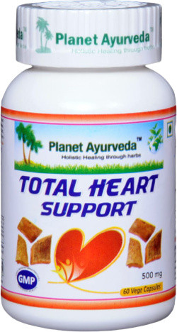 Planet Ayurveda Total Heart Support 60 vegetarische capsules