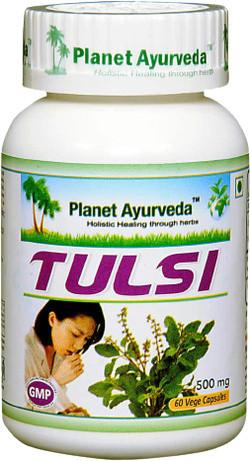 Planet Ayurveda Tulsi 60 vegetarische capsules