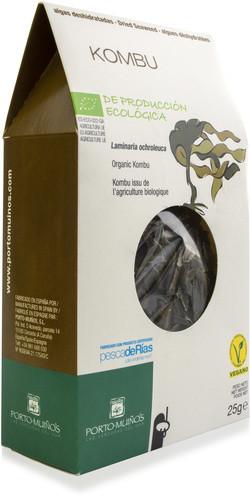 Porto Muinos Kombu vlokken 25 gram biologisch