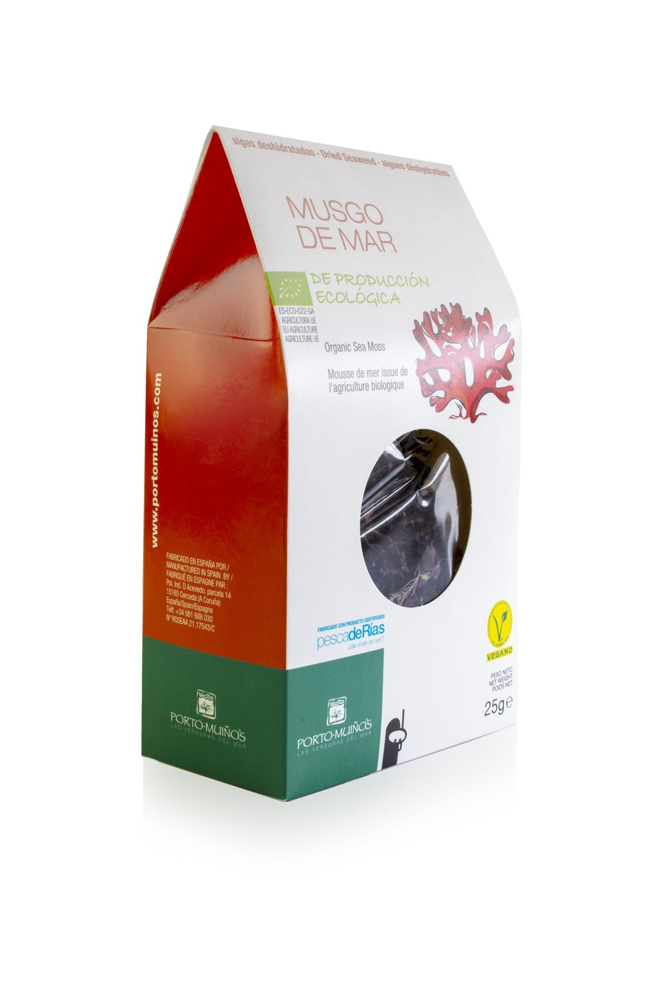Porto Muinos Sea moss 25 gram biologisch