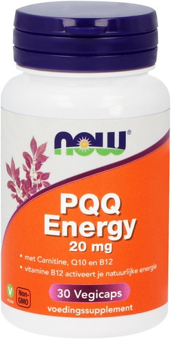 NOW Foods PQQ Energy 20 mg 30 capsules