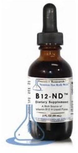 PRL Nutritionals Vitamine B12 druppels PRL B12-ND PRL Nutritionals 58 milliliter