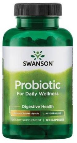 Swanson Probiotic Daily Wellness 120 capsules