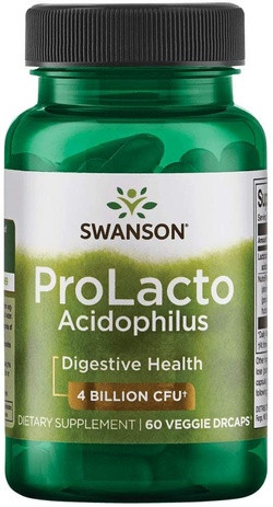 Swanson ProLacto Acidophilus 60 capsules