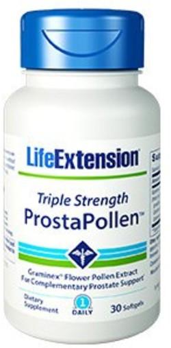 Life Extension Triple Strength ProstaPollen 30 softgel capsules