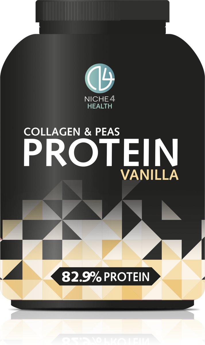 Niche4health Collagen and Pea Protein Vanilla