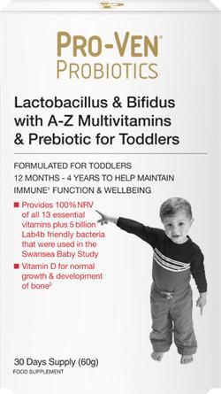 Pro-Ven Probiotics Probiotica voor Peuters 60 gram