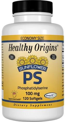Healthy Origins PS Phosphatidylserine 120 softgels