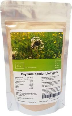 psyllium poeder 250 gr bio superfoodsonline