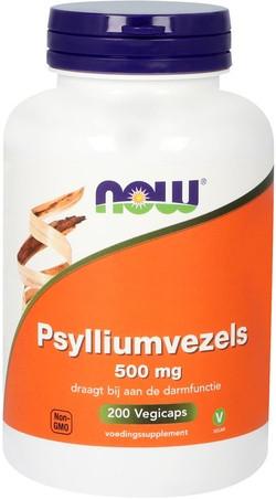 NOW Foods Psylliumvezels 500 mg 200 capsules